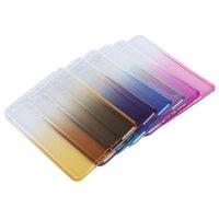 Wholesale Hot Sale Tablet Cover - Wholesale- Hot Sale TPU Tablet Back Cover Gradient Color Case for iPad mini 1 2 3 Dec19