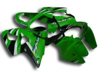 Wholesale Kawasaki Zx6r 636 Fairings - New Injection ABS fairing kits For kawasaki ninja ZX-6R 00-02 ZX 6R 636 ZX6R bodywork ZX636 ZX-636 2000 2001 2002 black white green top