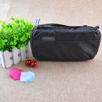 Wholesale high end makeup - High-end quality travelling toiletry bag fashion design men women wash bag large capacity cosmetic bags makeup toiletry bag