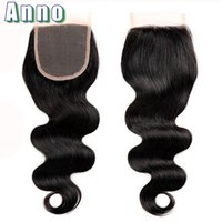 Wholesale Brazillian Human Hair Lace Wigs - 2017 Limited Brazilian Body Wave Closures Lace Closure Virgin Hair 7a Grade Brazilian Body Wave Brazillian Human Hair Clsoure