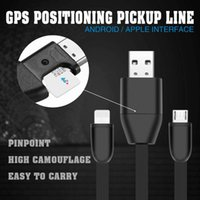 Wholesale United Mp3 - New Remote Tracking USB Cable GIM Tracker HS8 Miniature Anti-lost Tracker Vehicle Car GPS Locator USB Data
