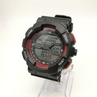 Wholesale Digital Table Design - M612 LED Watch A Top Men's Sports Watch Alarm Clock Running Table Design Digital Cold Light Display Watch Manufacturers Self