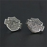 Wholesale 3pairs new biker style unisex earrings l stainless steel fashion jewelry motorbiker hot selling earrings