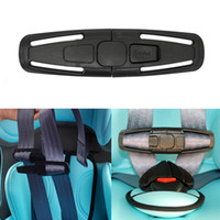HOT 1 pcs Car Baby Child Safety Seat Strap Belt Harness Chest Clip Buckle Latch Nylon preto