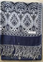 Wholesale Wholesale Ladies Viscose Scarf - Women's Pashmina Scarf Shawl Cashmere ponchos wrap Ladies Womens shawl Scarves 9 PCS LOT #1400