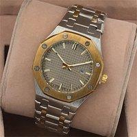 Wholesale Butterflies Clock - 2017 New automatic date luxury fashion men and women of the steel belt movement quartz clock men watch wholesale Free Shipping