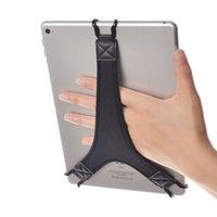 poignée de main pro achat en gros de-Dragonne TFY sécurité Porte doigt Grip pour tablette - iPad Air / iPad Pro 9.7