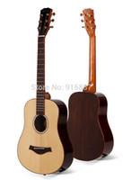 Wholesale american advance - Wholesale- EB01 New High quality new American Mahogany guitar Advanced acoustic guitar 34 inch guitarra