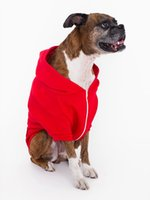 Wholesale Pink Browning Hoodie - Fleece dog of comfortable zip hoodie big size cotton hats clothes small large XL 2XL black blue red brown pink orange gray color