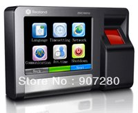 Wholesale Touch Screen Time Attendance - Wholesale- TCP IP Touch Screen Biometric Fingerprint Access Control & Time Attendance 600T