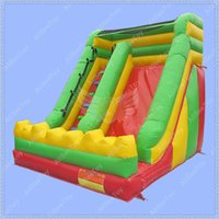 Wholesale Bouncy Castles - Commercial Quality Inflatable Slide for Kids, Inflatable Bouncy Castle Slide, Jumping Castle, Inflatable Dry Slide for sale