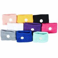 Wholesale Motion Sickness Bands - Wholesale- 2Pcs Anti Nausea Wristbands Car Sickness Washable Reusable Motion Sea Sick Travel Wrist Bands Color Random
