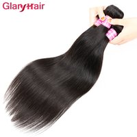 New Arrival Virgin Straight Brazilian Hair Bundles Pacotes de Weave de cabelo humano peruano Cheap Indian Malaysian Human Braiding Hair Extensions