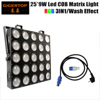 Wholesale Scanner Rgb - Freeshipping 25*9W RGB 3IN1 LED Matrix 25X9W Blinder Light DMX 84 75 30 6 DMX Channel 5X5 Stage Audience TIANXIN Scanner Light TP-M25 RGB