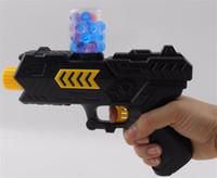 Wholesale Nerf Water - gun + 1000pcs water balls Soft Paintball Gun Pistol Soft Bullet CS Water Crystal Gun For Nerf Air Airgun gel balls beads