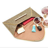 Wholesale Envelope Purse Clutch Pu - Women Bags luxury brand Evening Party Bag For Women Handbag Gold Sequins Envelope Bag Purse Clutch Handbags Purses Bags
