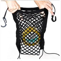 Wholesale Trucks Hang - Fashion Nylon Car Cargo Net Truck Storage Luggage Hooks Hanging Organizer Holder Seat String Bag Mesh Net