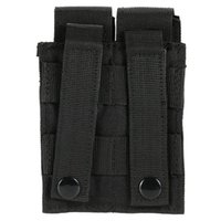 9MM Nylon 600D Tactical Molle Doppio Doppio Pistola Mag Magazzino Magazine Chiudi Custodia per Outdoor Airsoft Combat Military Hunting