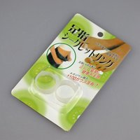 Wholesale Easy Slimming Weight Loss - DHL Free Shipping Magnetic Silicone Foot Massage Toe Ring Weight Loss Slimming Easy Healthy magic slimming toe rings