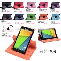 Wholesale Asus Nexus Smart Cover - Wholesale-Megnetic Smart Stand Case For ASUS Google Nexus 7 II 2 2nd Generation Case Cover w Swivel Stand