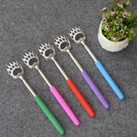 Wholesale Back Scratcher Free Shipping - Popular by DHL 200pcs free shipping Portable Bear Claw Telescopic The Ultimate Back Scratcher Extendable Nice Gift