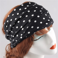 Wholesale Black Hair Color Men - 2017 New Fashion Women Sex Girls Head band,Hair Bows Design Style Colorful Customized Headwear Men Sports Cool Accessories Wholesales