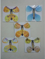 Wholesale 100pcs magic butterfly flying butterfly change with empty hands freedom butterfly magic props magic tricks