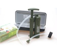 Wholesale High Quality New Type Mini Portable PlasticL Outdoor Soldier s Water Purifier Water Filter