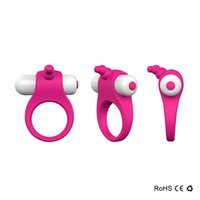 Wholesale Vibrators Delivery - LinkS Brand New Mini Vibrating Penis Ring Silicone Cock Ring Waterproof for Man and Couples Delay Ring Vibrator Pink In Stock FAST DELIVERY