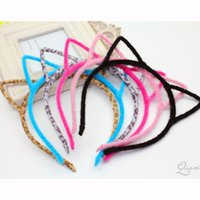 Donne Ragazze Ragazze Gattino Orecchini Accessori Headband Multicolore orecchie sexy Styling Tools Headwear Hair Clips