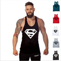 Wholesale Vest Xl - 2017 Men's Vest Punisher Thin Straps Muscle man t shirt Professional Vest Bodybuilding Golds Tank Tops Undershirt TX97 RF