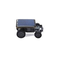 Wholesale Small Mini Toy Cars - Wholesale-Lovely Solar Power Mini Toy Car Racer The World's Smallest Educational Gadget Children Gift BS88