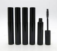 Wholesale Mascara Growth - Promotion 30 lot 10ml Black Mascara Tube with black Top 10CC Cosmetic Tube Eyelash growth liquid tube