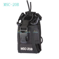 Wholesale Two Way Radio Holders - walkie talkie Baofeng radio case holder MSC-20B for two way Radio Transceiver Baofeng UV-5R UV-5RE UV-5RA Yaesu Vextex TYT TH-F8