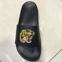 Wholesale Indoor Outdoor Design - New Arrival Fashion Design Leather Men's Slippers Summer Leather Slippers Comfortable Sandals Slides Beach Sandal Outdoor Men Slipper Shoes