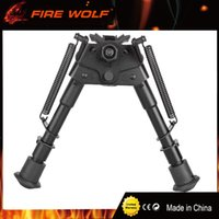 Wholesale New Fix - 2017 New 6-9 Bipod Harris Model extendable leg mounted fixed bipod for hunting Stand Scope Mounts