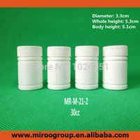 Wholesale Empty Pill Container - 100+2pcs 30ml 30cc 30g HDPE White Empty Pharmaceutical Capsule Container Plastic Pill bottles with Screw Caps & aluminum Sealers