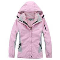 Wholesale Winter Women Jackets Xxl - Women Skiing Jacket Waterproof Windproof 2 in 1 Fleece Thermal Liner Warm Coat for Outdoor Sports Camping Hiking Windbreaker