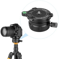 Wholesale level camera online - LB Professional Tripod Leveling Head Base with Bubble Level for DSLR Cameras with quot Thread Tripods and Monopods with quot Thread