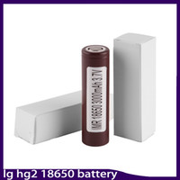 Wholesale High Quality Cell - 100% High Quality HG2 18650 Battery 3000mAh 35A MAX Rechargable Lithium Batteries For LG Cells VS HE2 HE4 Batteries 0269006