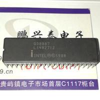 temporizador ics al por mayor-QD8087. QD8087-1, QD8087-2. 16-BIT, COPROCESOR DE MATEMÁTICAS, 8087 CPUs antiguas. doble en línea de 40 pin inmersión cerámica paquete ICs, CDIP40 / Vintage chips