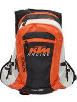 motosiklet seyahat sırt çantası toptan satış-KTM Sırt Çantası Eğlence seyahat çantası için ücretsiz nakliye Motosiklet yarış sırt çantası Çok Fonksiyonlu motokros sırt çantası 2 Renkler