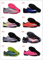 Victory V TF Chaussures de soccer Boy Turf Futsal chaussures de football Chaussures de football pour enfants Chaussures de football pour hommes Indoor Soccer Chaussures Football Football 35-45