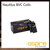 nautilus aspire 1.6ohm spule großhandel-Aspire Nautilus BVC Spulenkopf 0,7 Ohm 1,6 Ohm 1,8 Ohm Für Nautilus 2 Tank Nautilus Mini Zerstäuber 100% Original