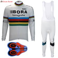 Wholesale Cycling Jersey White Pants Long - 2017 NEW Cycling long jersey bib pants mtb bicicleta cycling set cycling clothes Ropa ciclismo hombre maillot white