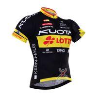 Wholesale Men Cycling Jersey Kuota - 2017 Tour de France kuota top quality the classic cycling jersey shirt bicycle top jerseys outdoor sportwear bike clothing E0416
