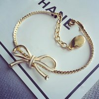 Wholesale Brass Jewerly - Top brass material Bracelet with butterfly shape and lobster Bracelet in 16cm for women and mother gift and lover jewerly PS5280