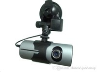 "Wholesale Vehicle Motion Detector - 2.7"" Dual Lens Dash Vehicle Camera Car DVR GPS Camera Video Recorder 140 Degree R300"