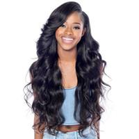 22 inç peruk toptan satış-Brezilyalı Vücut Dalga Bakire Saç tam dantel İnsan saç peruk siyah kadınlar için 8-30 inç Tutkalsız Tam Dantel İnsan Saç Peruk