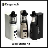 Original Kanger Juppi Starter Kit 3ML Tank 75W TC Box Mod поддерживает Ni Ti SS316 и Ni-Chrome Wire в режиме TC Juppi Kit